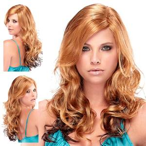 Monique 809 by Jon Renau Illusion Wigs 24BL2 33 Glazed Chocolate Synthetic Wig