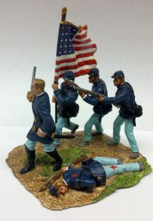 Joshua Chamberlain Union Soldiers Painted Civil War Metal Figure