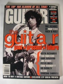1996 Guitar World Tab Keith Richards LED Zeppelin Live