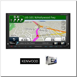 Kenwood DNX 7190 in Dash Double DIN Navigation 7 Touch Screen HD Car