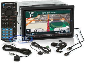 Kenwood Excelon DNX9980HD 6 95 Double DIN GPS Navigation DVD Receiver