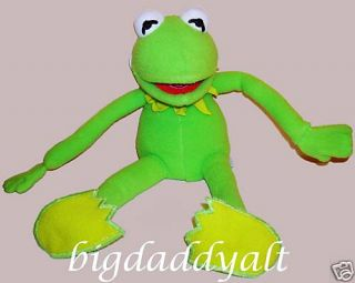 Disney Kermit The Frog Muppets Vision 3 D Plush Doll