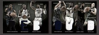 LEBRON JAMES KEVIN DURANT 7 JERSEY PATCH DWIGHT HOWARD DIRK NOWITZKI