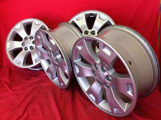 2011 2012 KIA BOREGO BORREGO OEM STOCK FACTORY 17 OE WHEELS RIMS 5X114