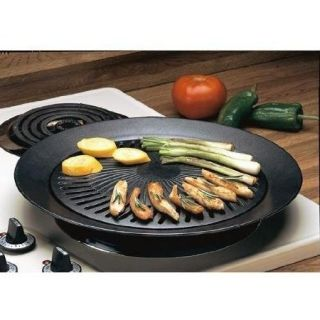 Smokeless Barbecue Kitchen Electric Gas Grill w Nonstick Surface NEW