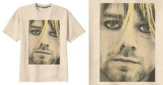 RETRO KURT COBAIN NIRVANA GRUNGE BAND ROCK T Shirt Tee Vintage Look