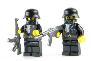 Custom Lego German Elite Soldiers WWII Minifig Army
