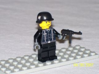 Lego Minifig WW2 German Soldier with Gun Lot B