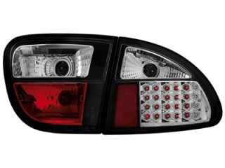 Seat Leon 1M LED Tail Lights Black 1