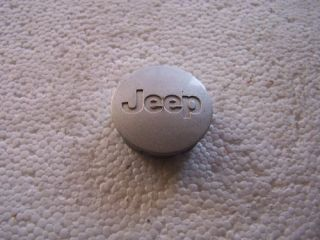 2002 2008 Jeep Grand Cherokee Liberty Center Cap Silver
