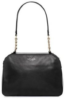 Kate Spade Litchfield Nanette Satchel Black Leather Handbag Purse