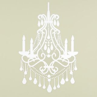 Little Boutique Chandelier Wall Decal Nursery Room Decal Adds Elegance