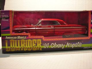 American Muscle 1964 Chevy Impala Lowrider 1 18th Scale in Box