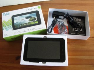 Mach Speed Trio Stealth Pro 7 Internet Tablet Android 4 0 Webcam Wi