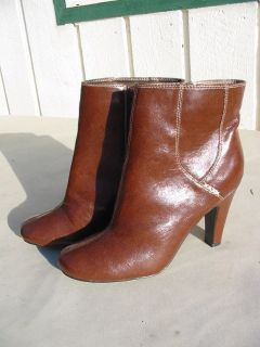 Nice Pre Owned Womens Madeline Stuart Size 11 M Half Ankle Boots w