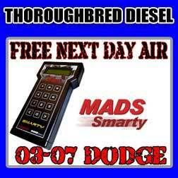 MADS Electronics Smarty Super Sport Revo Tuner 03 07 Dodge Ram Cummins