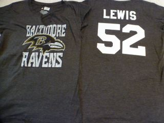 1113 Womens Apparel Baltimore Ravens Ray Lewis Football Jersey Shirt
