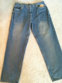 Makaveli Branded Mens Blue Jeans 40W x 34L