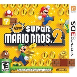 New Super Mario Bros 2 Nintendo 3DS 2012 Pre Order