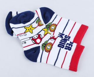 Super Mario Bros Kids socks size 16cm