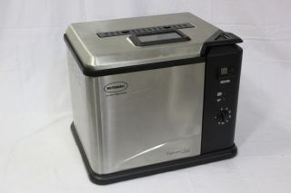 Masterbuilt BUTTERBALL Indoor Electric TURKEY Fryer 23012411 Stainless