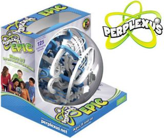 Perplexus Epic 3D Puzzle Maze Ball Game Brain Teaser by Plasmart
