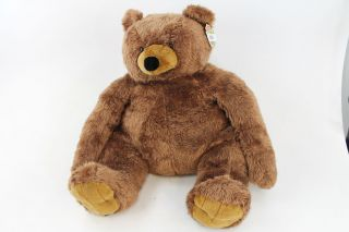Melissa Doug Jumbo Brown Teddy Bear Plush 15926
