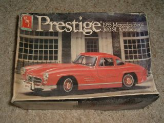Ertl Model Prestige 195 Mercedes Benz 300 SL Gullwing Kit 687