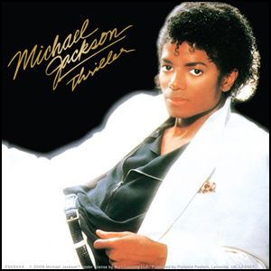 Michael Jackson Thriller Album Logo Sticker