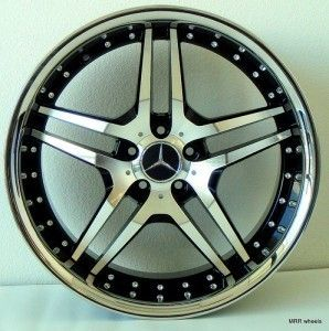 19 Roderick RW 2 Wheels Rims Mercedes Benz C320 C300 C350 E350 E550