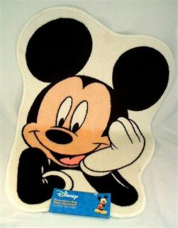 Mickey Mouse Walt Disney Character Bath Bathroom Shower Rug Mat Matt