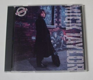 Mick Taylor Live Stranger in This Town The Rolling Stones Maze CD