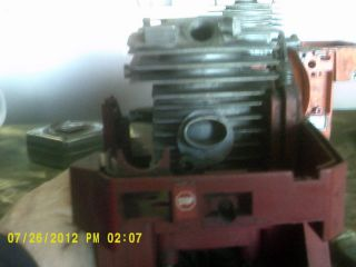 Solo 645 Engine Crankcase with Piston and Cylinder Nice