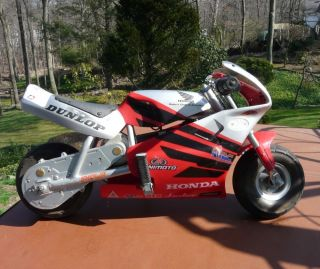 Honda Mini Moto Pocket Bike 18V Electric Minimoto as Is Motorcycle