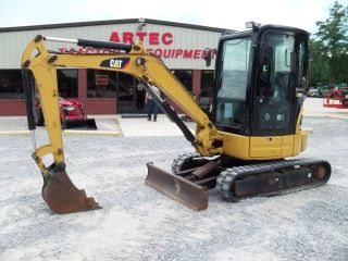 2008 Caterpillar 303CCR Mini Excavator Loader Backhoe Tractor