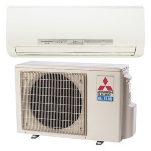 Mitsubishi Mr Slim 26 SEER Mini Split Heat Pump 9K BTU Ductless Hyper