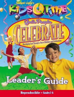 People Celebrate Leaders Guide by Gospel Light 2000, Big Book