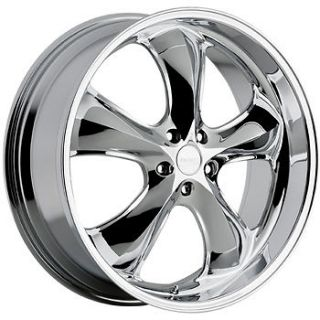 20x9.5 Chrome Incubus Shylock Wheels 5x4.5 +35 FORD FLEX EDGE MUSTANG