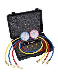 Air Conditioning Manifold Gauge and Hose set 410a Javac