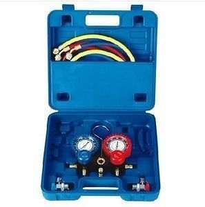 REFRIGERATION AIR CONDITIONING Manifold GAUGE R134A CAR