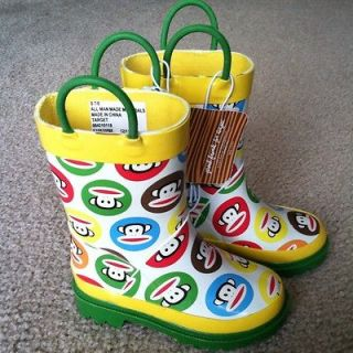 yellow rain boots in Kids Clothing, Shoes & Accs