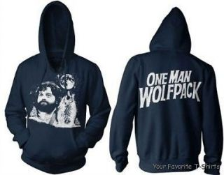 Licensed The Hangover Movie Alan One Man Wolf Pack Adult Hoodie S 2XL