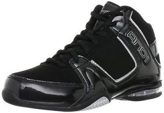AND1 Mens D1042MBB Total Assist Mid Basketball Training Shoes [ Black