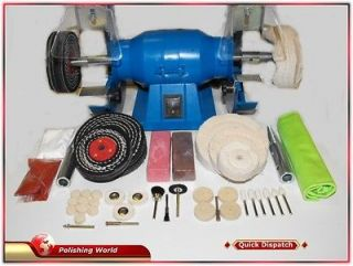 Jewellery / Craft Bench Polisher Grinder With 38 Piece Polishing Kit