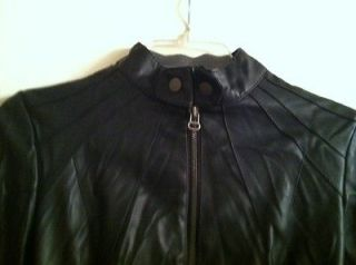 leatherette jacket in Clothing,
