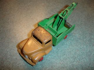 Old Vtg Antique Diecast Dinky Toys Service Commer Toy Tow Truck Made