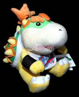 Super Mario Brothers Bros 6 Bowser Jr. Junior Soft Toy Plush Doll