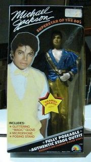 MICHAEL JACKSON DOLL LJN MJJ New in box . GRAMMY AWARDS OUTFIT 12