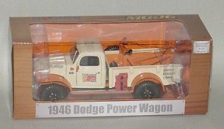 25th 1946 Federated Car Care Dodge Power Wagon Wrecker