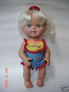14~VINTAGE~19 97 Mcdonalds ? Happy Meal Baby Girl Doll